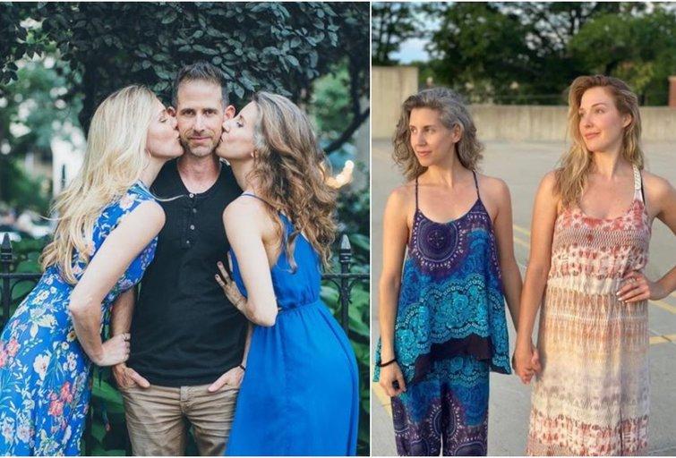 Vyras po 19 metų santuokoje atsivėrė poliamorijai, norėdamas atverti savo asmeninį gyvenimą naujiems žmonėms (nuotr. Instagram)