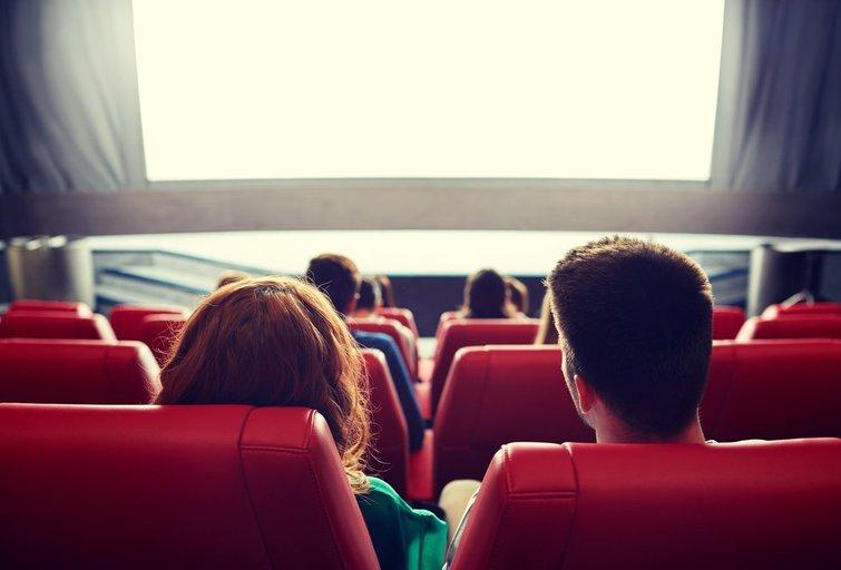 Kino teatras (nuotr. 123rf.com)