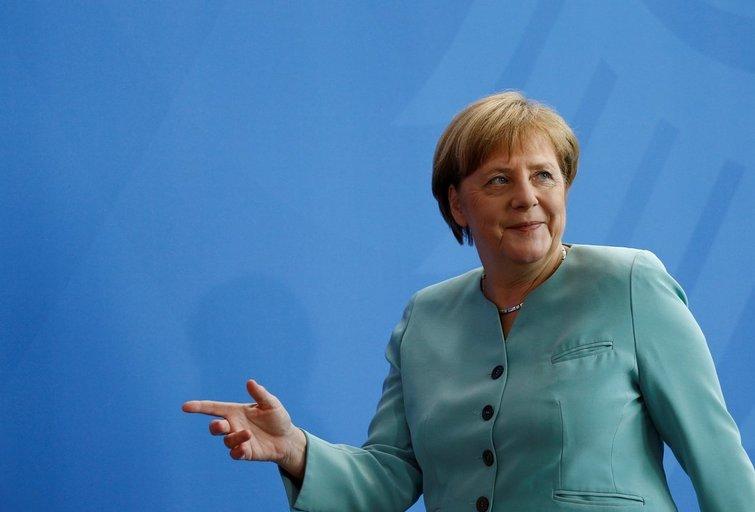 Vokietija ieško būdų, kaip išvengti Rusijos dujų spąstų (nuotr. SCANPIX)
