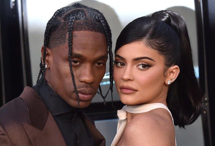 Kylie Jenner ir Travis Scott (nuotr. SCANPIX)