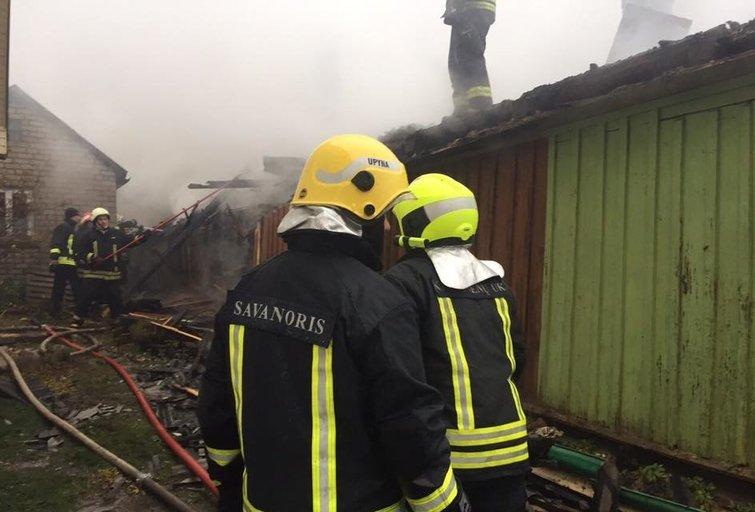 Varėnos rajone per gaisrą žuvo žmogus (asociatyvi nuotr.) (Nuotr.Šilalės rajono savivaldybės priešgaisrinė tarnyba)