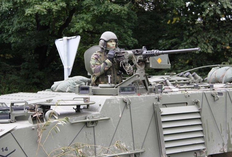 Tauragės regione kartu treniruojasi Portugalijos ir Lietuvos kariai (nuotr.  Eugenijus Ambrozas)