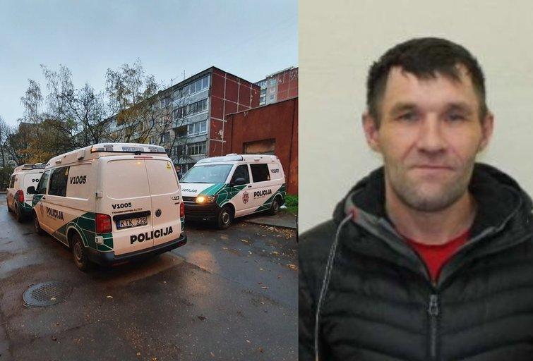 Policija prašo pagalbos: iš Alytaus pataisos namų pabėgo kalinys (tv3.lt koliažas)