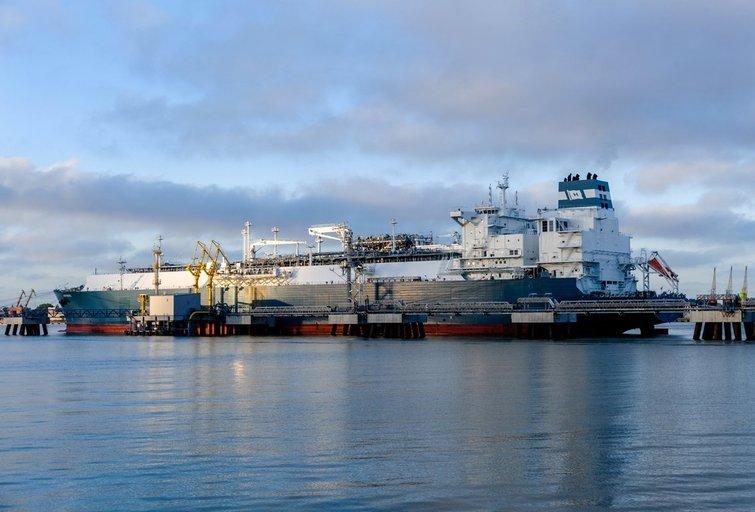 Balandžio mėnesį per SGD terminalą į Lietuvą įvežtų dujų dalis sudarė 83 proc. visų į šalį importuotų dujų. (Algirdas Kubaitis/Fotobankas)