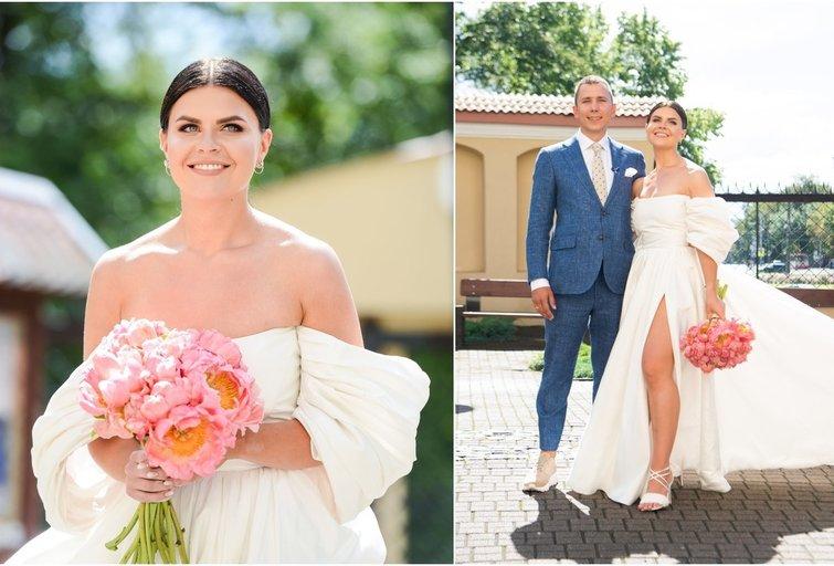 Ingos Žuolytės ir jos mylimojo Adomo vestuvių akimirkos (tv3.lt fotomontažas)
