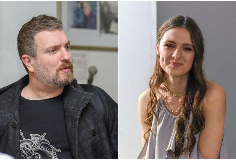 D. Zvonkus ir I. Zasimauskaitė (tv3.lt fotomontažas)