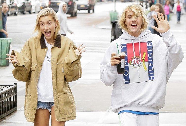 Hailey Baldwin ir Justin Bieber (nuotr. Vida Press)
