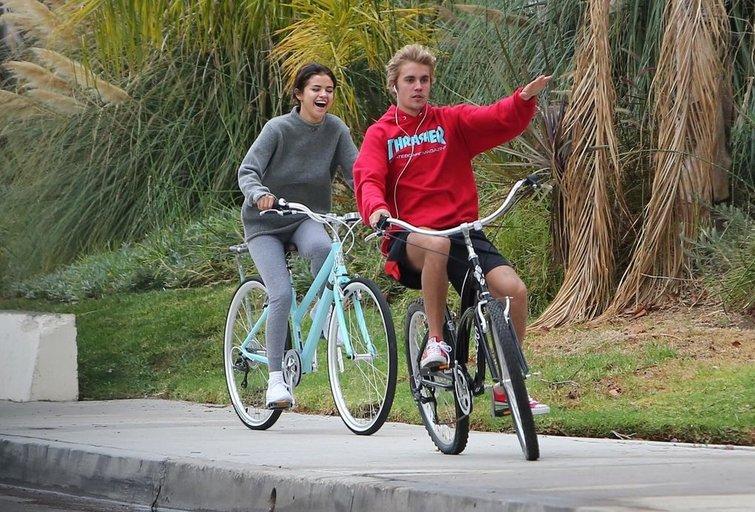 Selena Gomez ir Justinas Bieberis  (nuotr. Vida Press)