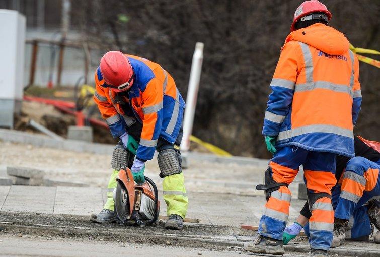 Ir sulaukę pensijos lietuviai tikisi dirbti (nuotr. Fotodiena/Justino Auškelio)