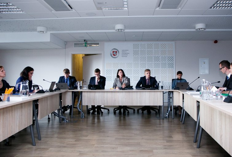 Kainų ir energetikos kontrolės komisijos posėdis (nuotr. Tv3.lt/Ruslano Kondratjevo)