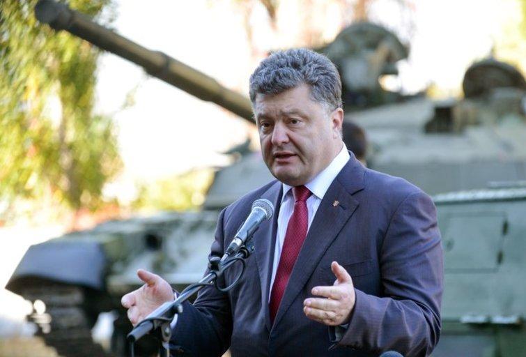 Petro Porošenka keičia gynybos ministrą (nuotr. SCANPIX)