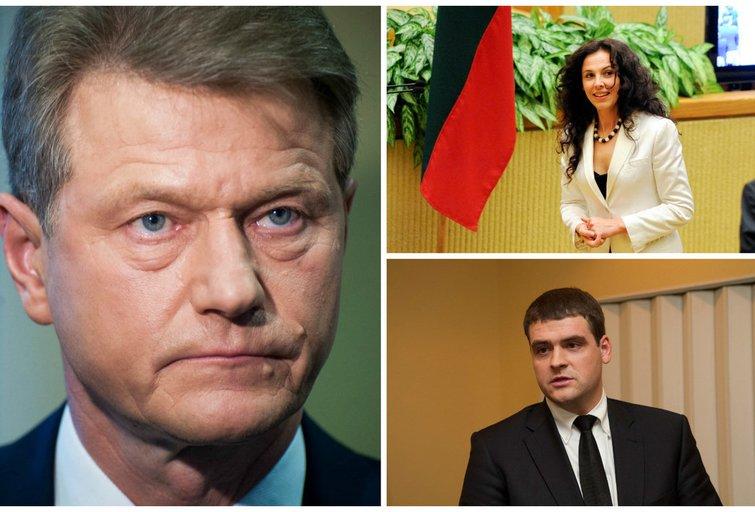 R. Paksas, J. Vaickienė ir R. Žemaitaitis (tv3.lt fotomantažas)