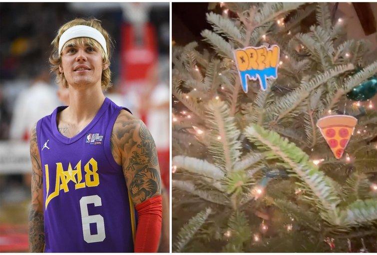 Justino Bieberio kalėdinė eglutė (tv3.lt fotomontažas)