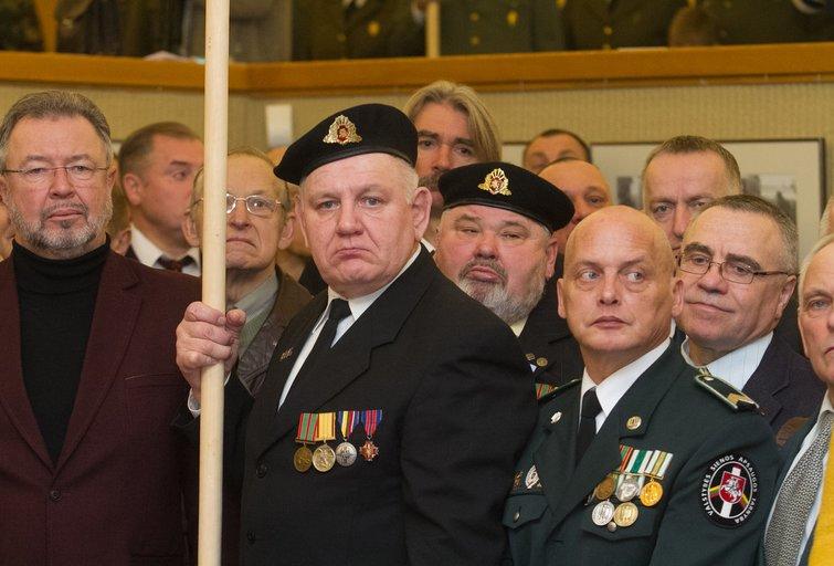 Iškilminga Laisvės gynėjų rikiuotė  (nuotr. Tv3.lt/Ruslano Kondratjevo)
