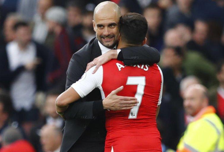 "Londono ""Arsenal"" – ""Manchester City"" 2:2 (nuotr. SCANPIX)"