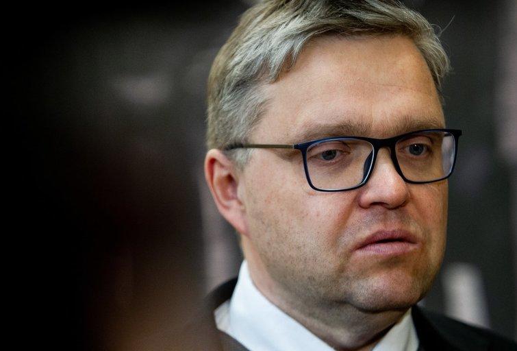 Seimas svarstys rezoliuciją, kuria reiškiamas nepasitikėjimas Lietuvos banko vadovu Vitu Vasiliausku. (nuotr. BFL)