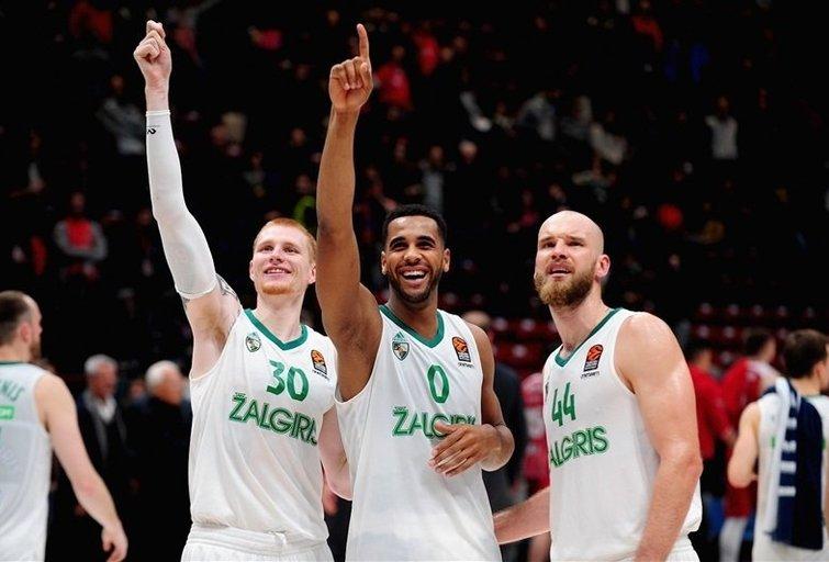 """Antradienį – žūtbūtinis """"Žalgirio"""" mūšis (nuotr. Euroleague Basketball)"""