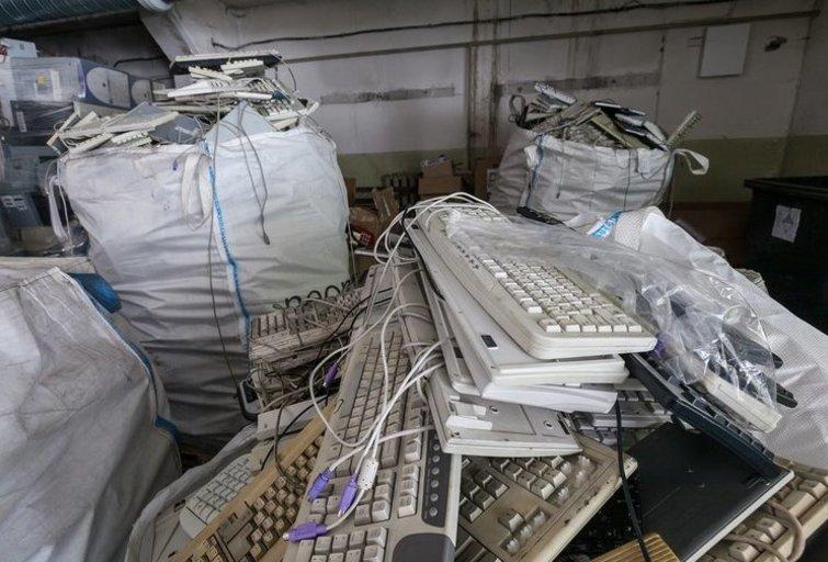 Elektronikos atliekos (nuotr. Organizatorių)