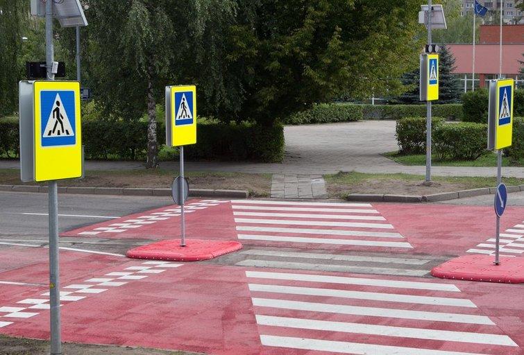Pėsčiųjų perėja (Fotobankas)