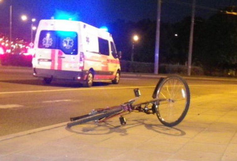 Parblokštas dviratininkas Audriaus Bareišio nuotr.