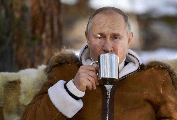 Putino apsilankymas taigoje, 2021-ieji (nuotr. SCANPIX)