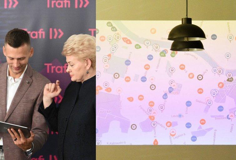 "Pristatyta naujoji ""Trafi"" versija (nuotr. Fotodiena.lt/Eglė Mačiulskytė, tv3.lt fotomontažas)"