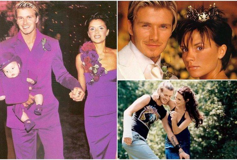 Davidas ir Victoria Beckhamai (tv3.lt fotomontažas)