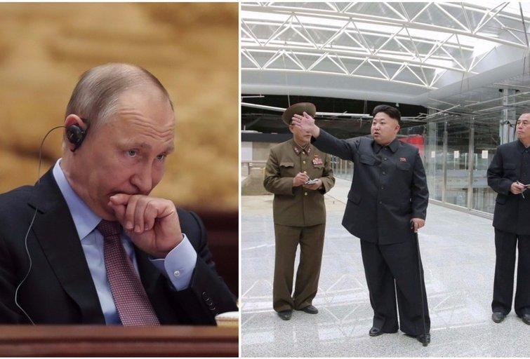Rusija – Šiaurės Korėjos problemos raktas (nuotr. SCANPIX) tv3.lt fotomontažas