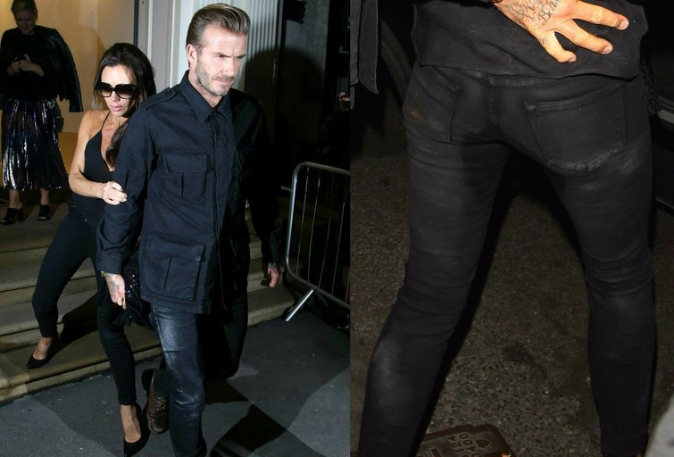 Victoria ir Davidas Beckhamai (nuotr. Vida Press)
