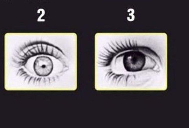 Kurios akys pikčiausios?