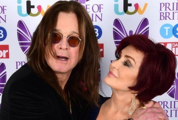 Sharon Osbourne ir jos vyras Ozzy (nuotr. SCANPIX)