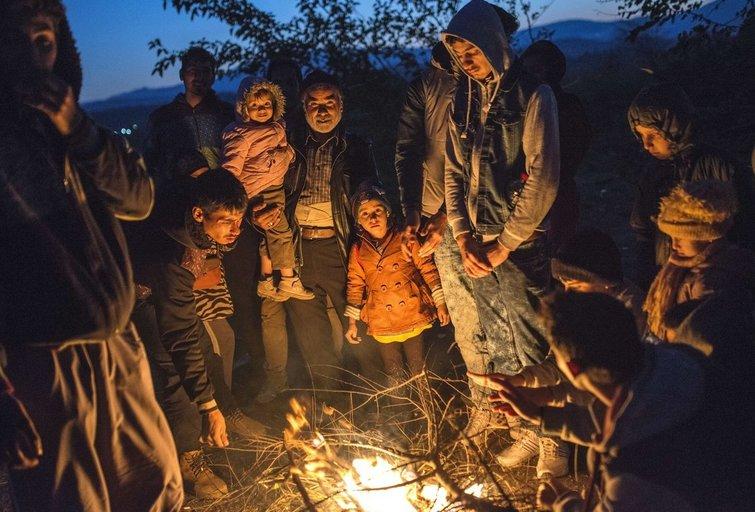 Pabėgėliai Europoje (nuotr. SCANPIX)