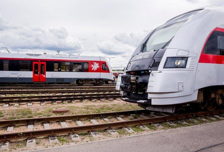 Traukinys  (nuotr. Organizatorių)