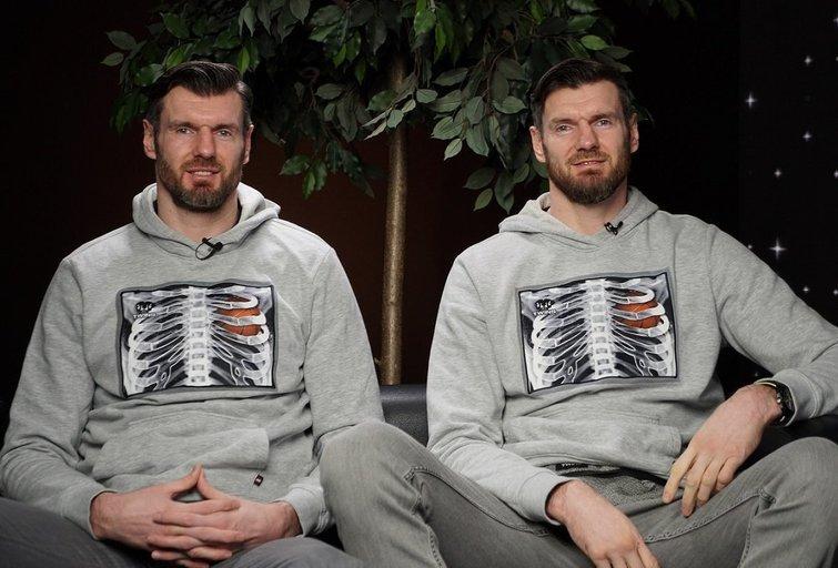 Broliai Lavrinovičiai (nuotr. Organizatorių)