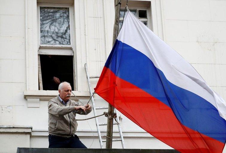 """Kremlius kritikuoja """"absoliučiai neatsakingą"""" Britanijos poziciją (nuotr. SCANPIX)"""