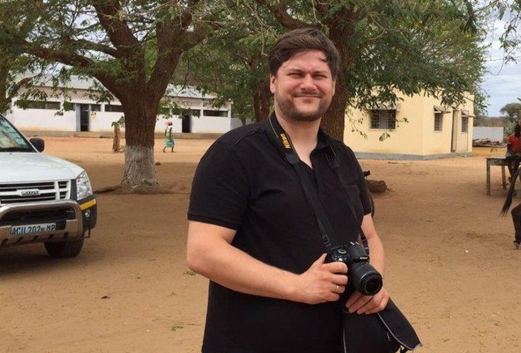 M. Vitulskio pirma diena Mozambike (nuotr. asm. archyvo)