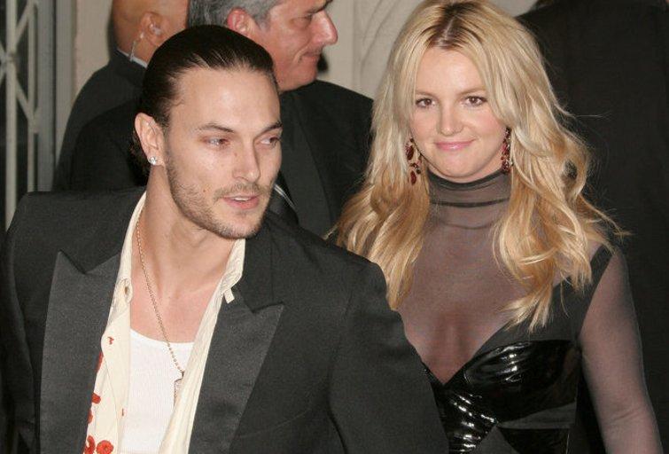 Britney Spears ir Kevinas Federline'as (nuotr. Alloverpress.ee)