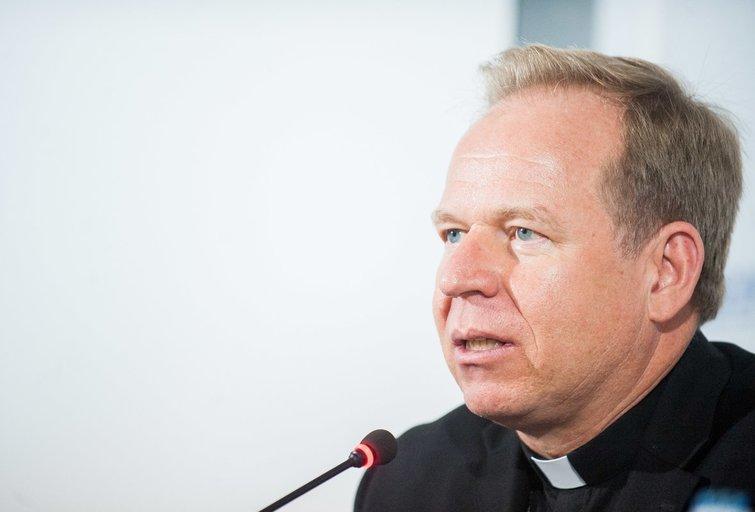 Arkivyskupas Gintaras Grušas (nuotr. Fotodiena.lt)