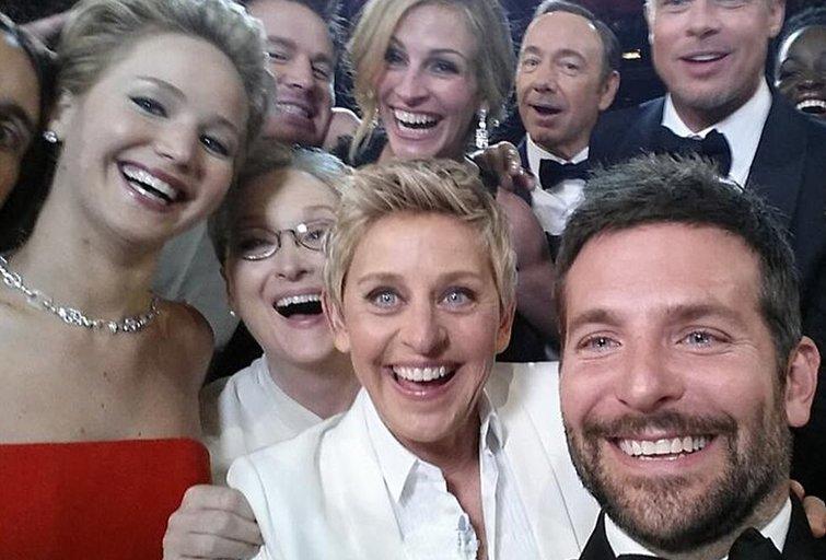 """""""Oskarų"""" įteikimo ceremonijos akimirka (nuotr. Twitter)"""
