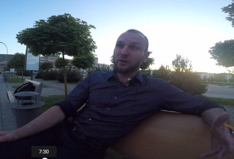 Jonas Vainauskas (nuotr. YouTube)
