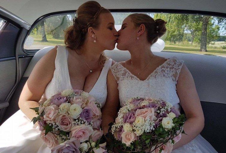 Marina Melody Winnersjo ir Viktorija Budrytė (nuotr. facebook.com)