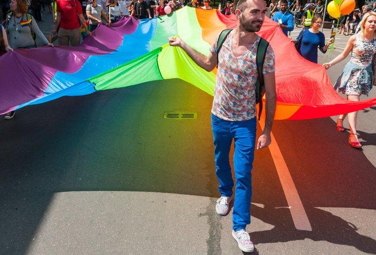"""Baltic Pride 2016 eitynės """"Už lygybę!"""" (nuotr. Eimanto Genio)"""