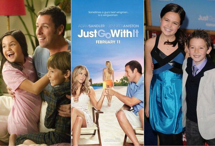 """Filmas """"Just Go With It"""" (liet. """"Suvaidink mano žmoną"""") (nuotr. Vida Press)"""