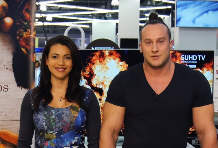 Ilka Adams ir Andrius Pauliukevičius (nuotr. TV3)