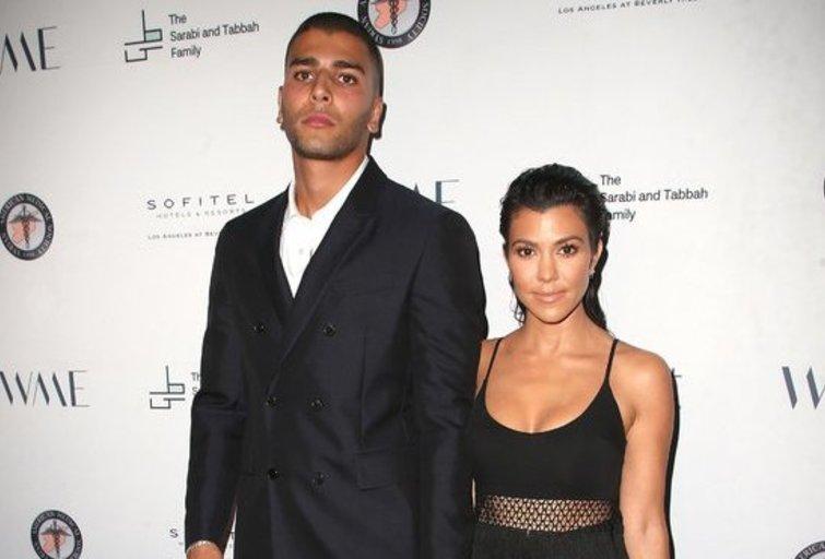 Younes Bendjima ir Kourtney Kardashian (nuotr. Vida Press)