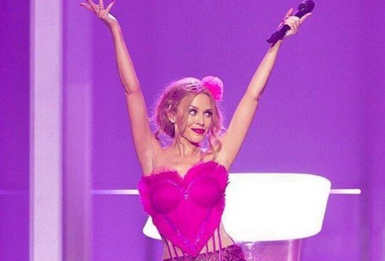 K. Minogue ture (nuotr. Instagram)