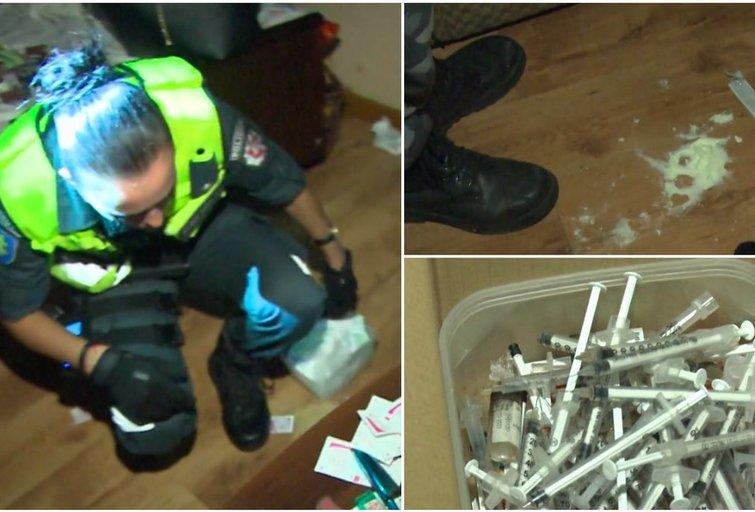 Narkotikų prekeivio landynė šokiravo pareigūnus: negalėjo patikėti tuo, ką mato