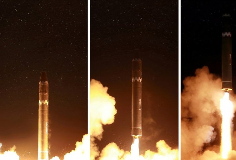 Šiaurės Korėjos raketos Europą pasiekti galėtų jau šiais metais (nuotr. SCANPIX)