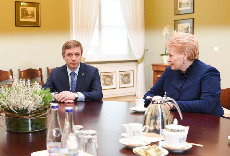 Prezidentė susitiko su valstiečių lyderiais (nuotr. Fotodiena.lt)