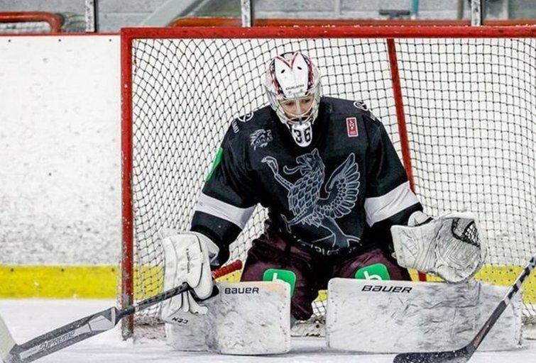 """Lietuvos vyrų ledo ritulio rinktinė šiandien pradeda tarptautinį """"Trijų jūrų taurės"""" turnyrą (nuotr. hockey.lt)"""
